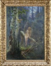 Русалка в лесу