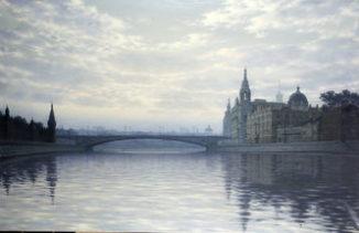 Вид на Большой Москворецкий мост, Кремль, гостиницу Балчуг