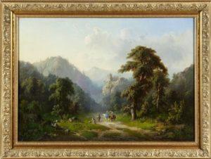 Всадницы в горах