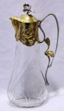 Серебряный кувшин для вина в стиле модерн
