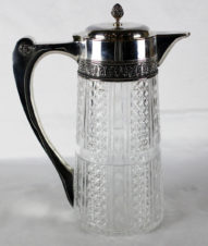 Кувшин хрусталь в серебре в русском классическом стиле