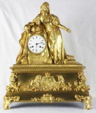 Старинные каминные часы «Королева Великобритании и Ирландии Виктория»