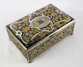 Коробка для сигар в стиле модерн
