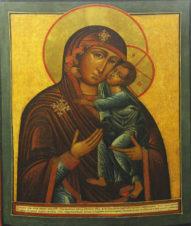 Старинная икона Божья Матерь «Толгская»