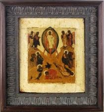 Старинная икона «Преображение Господне»