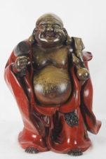 Скульптура бронзовая «Хотей с молотом»