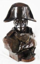 Бронзовый бюст «Император Наполеон I Бонапарт»