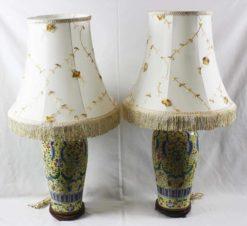 Настольные лампы с абажуром (пара)