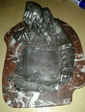 Антикварный чернильный прибор «Летописец» в стиле «Русский модерн»