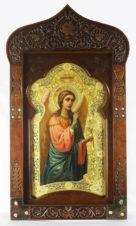 Антикварная икона «Архангел Гавриил — архистратиг небесных сил»