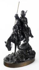 Бронзовая скульптура «Казак и казачка»