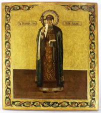 Старинная икона «Великая княгиня Ольга»