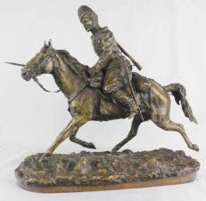Скульптура «Казак лейб-гвардии Атаманского полка начала царствования Александра III»