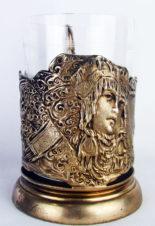 Подстаканник серебряный » Царевна-Лебедь»