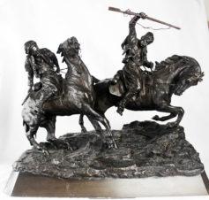 Бронзовая скульптура «Башибузуки»