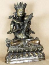 Скульптура бронзовая «Будда с Шакти в союзе Яб-Юм (Будда Ваджрасаттва в союзе с супругой)»