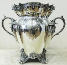 Ваза для охлаждения шампанского или вина, принадлежавшая русскому адмиралу Н.Г.Казину