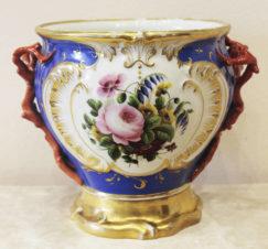 ваза на подставке «Коралл» с декором в виде коралловых веток