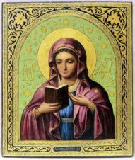 Антикварная икона «Калужская Пресвятая Богородица»