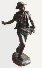 Бронзовая скульптура «Сеятель»