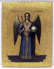 Антикварная икона «Святой Архистратиг Михаил»