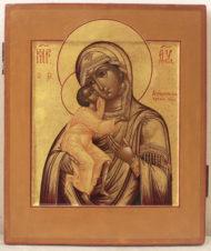 Старинная икона «Божья Матерь Феодоровская (Федоровская)»