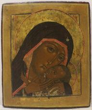 Старинная икона «Богоматерь Корсунская (Эфесская)»