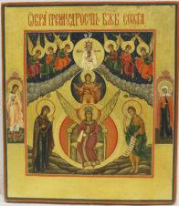 Старинная икона «Премудрость Божия София (Новгородская)»