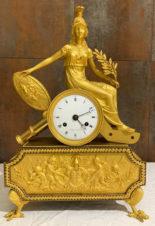 Часы каминные «Мир» с фигурой богини Беллоны
