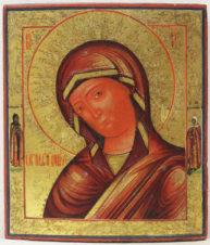 Старинная икона Божией Матери «Огневидная»