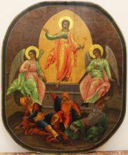 Старинная икона «Воскресение Господа Нашего Иисуса Христа»