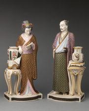 Парные фигуры «Японская пара в национальных одеждах»