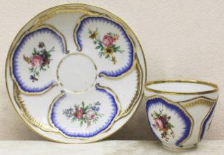 чайная пара с цветочными резервами