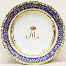 Тарелка из «Золотого сервиза» Марии Федоровны