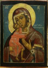 Старинная икона «Пресвятая Богородица Феодоровская»