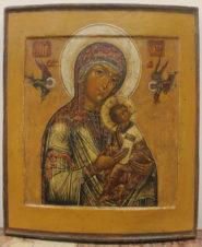Старинная икона Божьей матери «Страстная»