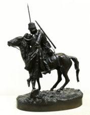 Бронзовая скульптура «Прощание казака с казачкой»
