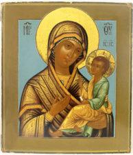 Старинная икона «Богоматерь Грузинская»