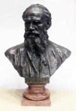 Бронзовый бюст «Лев Толстой»