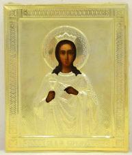Антикварная икона «Святая великомученица Варвара»