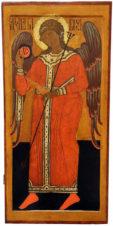 Храмовая икона «Архангел Гавриил» из деисусного ряда иконостаса