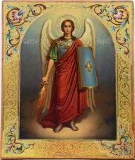 Старинная икона «Архистратиг Михаил»