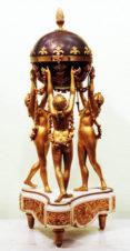 Часы каминные с боем «Три грации»
