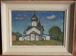 Псков. Церковь Вознесения Господня