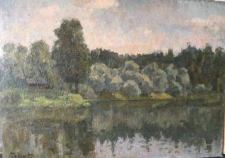 Пейзаж в Переделкино