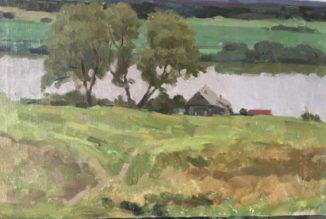 Приокский пейзаж