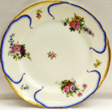 Тарелка из Банкетного сервиза («Капустные листья»)