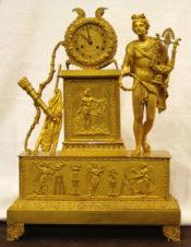 Часы каминные с боем в стиле «Аполлон»