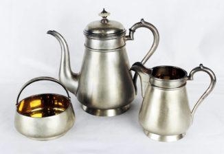 Серебряный кофейный сервиз