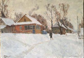 подмосковье деревня Почева